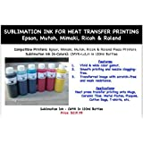 Sublimation Ink-CMYKLcLm for Heat Transfer Printing by ND