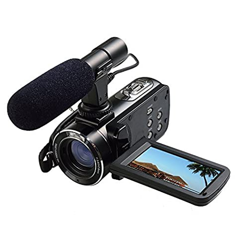 Camcorder,STOGA Flash Digital Camera With 16X Digital Zoom and 3.0