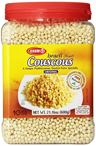 - Osem Israeli Couscous Canister, 21-ounces (Pack of4)