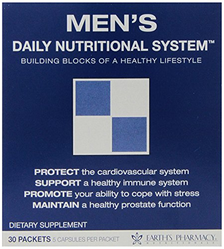 Earths Pharmacy (Evince Naturals Men's Daily Nutritional System, Multivitamin - 30 Packets)