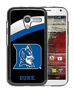 For Moto X,NCAA Atlantic Coast Conference ACC Footballl Duke Blue Devils 2 Black Protective Case For Moto X