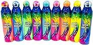Super Bright Fluorescent 4oz Bingo Daubers- Set of 9 Daubers- One Of Each Color