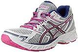 Cheap ASICS Women's Gel-Equation 7 Running Shoe,White/Black/Hot Pink,5 M US