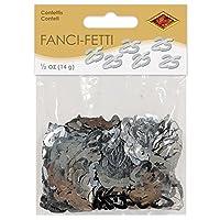 Beistle 50624-S Fanci-Fetti 25 siluetas