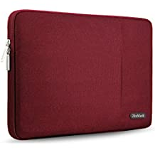 ZinMark 15-15.6 Inch Laptop Sleeve for Dell/Ausu/Acer/HP/Toshiba/Lenovo Spill-Resistant Ultrabook Netbook Tablet Bag Case Cover, Red