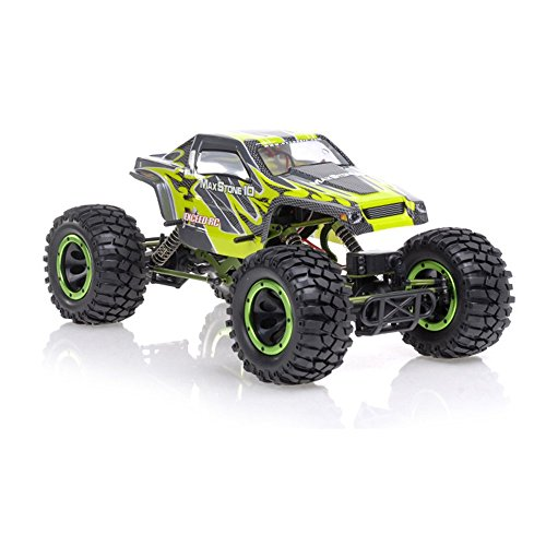 1/10th Scale 2.4Ghz Exceed RC MaxStone 4WD Powerful Electric Remote Control Rock Crawler 100% RTR by Exceed RC