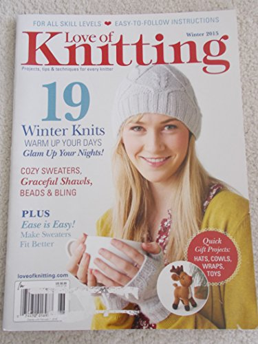 Love of Knitting 19 Winter Knots Warm up Your Day Winter 2015