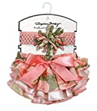 Stephan Baby Ruffled Diaper Cover and Curly Bow