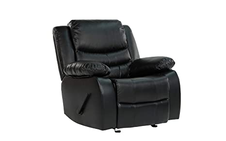 Superb Divano Roma Furniture Recliner Chair Black Camellatalisay Diy Chair Ideas Camellatalisaycom