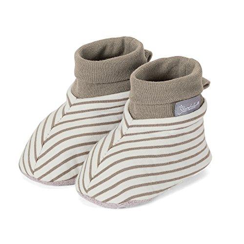 Sterntaler 5101606 - Babyschuhe aus Baumwolle (19/20, ecru)