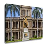 Ashley Canvas, King Kamehameha I Statue In Honolulu Hawaii, Home Decoration Office, Ready to Hang, 20x25, AG6406537