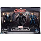 """Marvel Avengers Marvel Legends Infinite Series Agent Coulson, Nick Fury & Maria Hill 6"""" Action Figure 3-Pack [Agents of Shield]"""