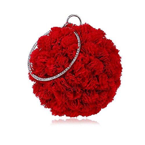 de Bolso Las para de Blue la Navy RED Mujer Embrague LGSVB Mujeres 5Andx6q5