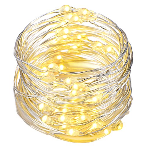 Starry String Lights Target : Amazon Giveaway: String Lights,Oak Leaf 9.8ft 60LEDs Led String Lights Starry Silver Wire Lights ...