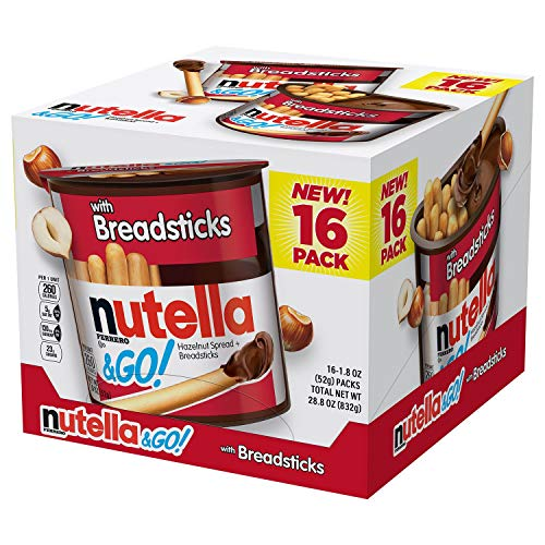 16 Go 1 Each 28 Hazelnut 8 With Spread Breadsticks 80 Nutellaamp; Pack Oz n0yvmN8Ow