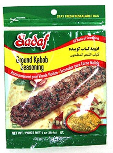 Sadaf Ground Meat Kabob Season, 1-Ounce (Pack of 4)