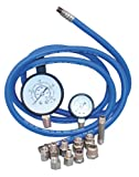 6ft 1 2 hose for transmission - SG Tool Aid 34550 Automatic Transmission And Engine Oil Pressure Tester With Two Gauges