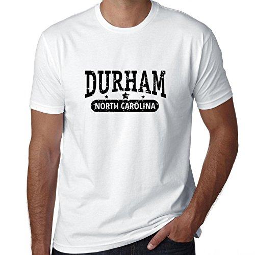 Hollywood Thread Trendy Durham, North Carolina With Stars Men's T-Shirt -