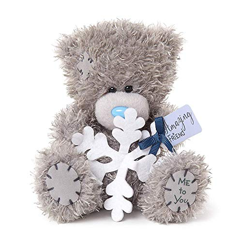 Me To You AP501013 Amazing Friend Snowflake Tatty Teddy - Teddy Snowflake Bear