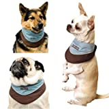 Outward Hound Kyjen   Designer Cool-It Bandana, Medium, Blue