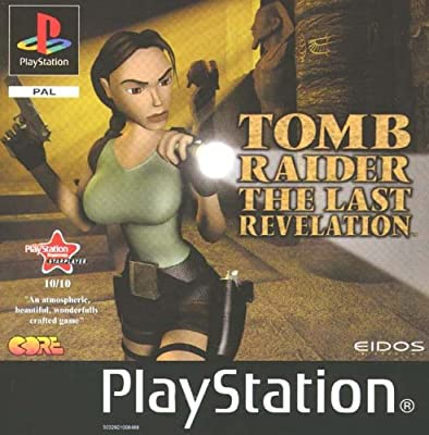 Tomb Raider The Last Revelation Psone Sony Playstation Amazon