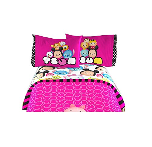 Disney Tsum Tsum Kids Comfortable Twin Sheet 3 Pcs Set 66