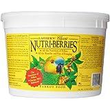 Lafeber Company Nutri-Berries Parrot Pet Food, 3.25-Pound