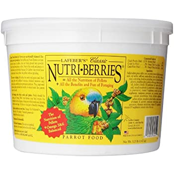 Lafeber S Tropical Fruit Nutri Berries Parrot Food