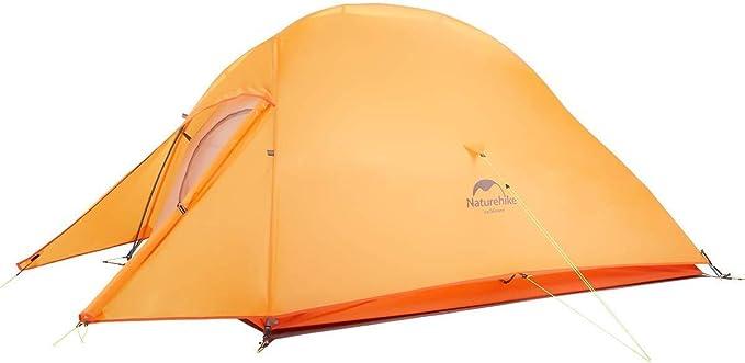 Naturehike Nuovo Cloud-up 3 Persona Tenda Aggiornata Doppio Strato Tenda 2018 Tende da Escursioni