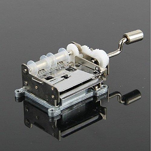 人気ブランドを 15 15 Tones Hand Hand Cranked DIY音楽ボックスMovement Tones with空白用紙テープ B01F8KC44Q, コマキシ:f1522f94 --- arcego.dominiotemporario.com