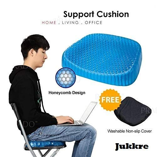 Egg Sitting Gel Flex Cushion Seat Sitter Breathable Ease Support Sit On An Egg