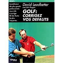 Golf corrigez.. defauts -souple