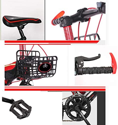ZSH Kids Bike, Freestyle Boy Kids Bike, Geschikt voor kinderen van 8-15, 20 inch, 22 inch, met waterfles en standaard, groen en zwart