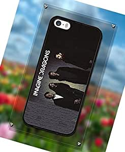 Customized Imagine Dragons Member - Band Phone Funda Case For Apple Iphone 5s Popular Series Protective Funda Case