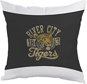 Tiger image Printed Pillow, Polyester fabric 40X40 cm