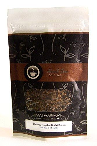 Mahamosa China Black Tea Loose Leaf (Looseleaf) - Zhen Qu (Golden Buds) Special Yunnan Royal Gold 2 (2 Japan Fine China)