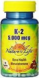 Nature's Life K-2, Menatetrenone, 5000 Mcg, 60 Tablets