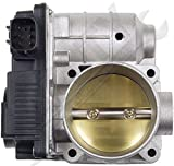 valve body assembly - APDTY 16119-AE01C Electronic Throttle Body Assembly w/ Actuator IAC Idle Air Control TPS Position Sensor Fits 2002-2006 Nissan Altima Sentra Xtrail w/ 2.5L (16119-AE013 16119-AE01B 16119-AE01C)