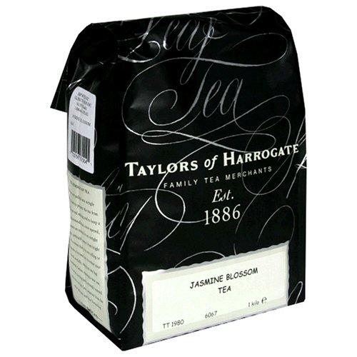 Asian Jasmine White Tea (Taylors of Harrogate Green Tea with Jasmine Loose Leaf, Kilo Bag)