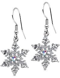 Let It Snow Snowflake Earrings