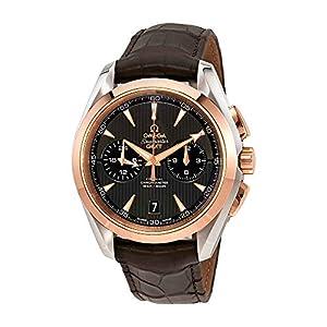 Omega Seamaster 23123435206001 - Reloj automático para hombre (acero GMT y oro rosa de 18 quilates) 12