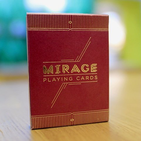 Mirage V2 Playing Cards Limited 2nd Edition Classic Finish Deck by Patrick - Finish Mirage
