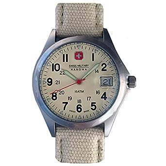 002Amazon Hanowa Military 04 Swiss Armbanduhr 06 Herren 4254 34RjqS5cAL