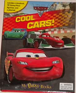Amazon Com Disney Cars My Busy Book Storybook 12 Figures