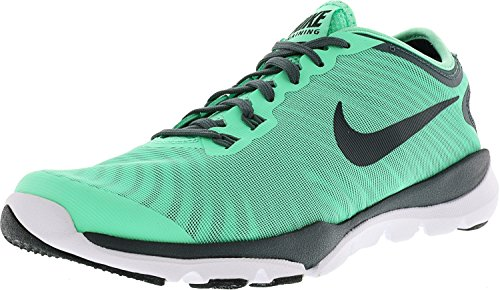 Nike Womens Flex Supreme Tr 4 Cross Trainer Verde Bagliore