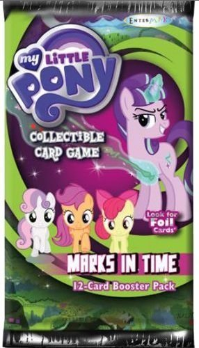 My Little Pony CCG Card Game Marks In Time Booster Box - 36 packs / 12 cards by My Little Pony