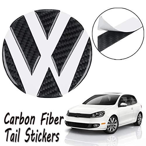 Volkswagen Golf Carbon Fiber - AutoE Car Tail Trunk Grooves Stickers Carbon Fiber Hollow Emblems for Volkswagen/VW Golf 5 6 7 Sagitar Magotan CC Tiguan Polo R20