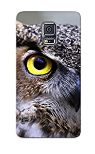 RipjMAp3896dwrVb Snap On Case Cover Skin For Galaxy S5(great Horned Owl)/ Appearance Nice Gift For Christmas