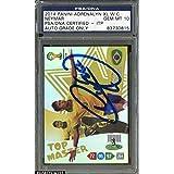 2014 Panini Adrenalyn XL W.C. Neymar AUTO 10 GEM MINT - PSA/DNA Certified - Autographed Soccer Cards