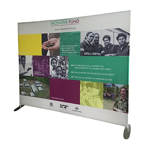 Display Factory USA DFU 10' Flat Tension Fabric Tube Display Including Canvas - Tension Display Fabric 10'